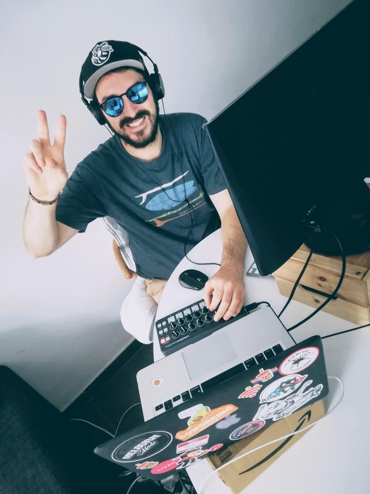DJ #virtualspacehero