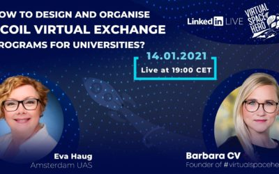 How to design and organize virtual exchange (COIL) programs for universities