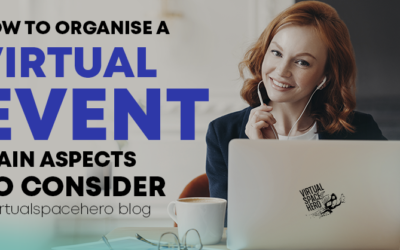 How to organise a virtual event: main aspects to consider